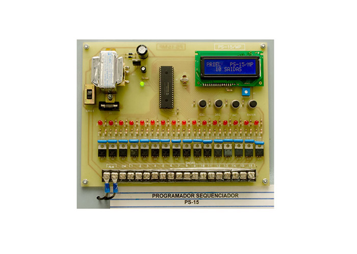 Foto: Programador Sequenciador Microprocessado PS-15/MP